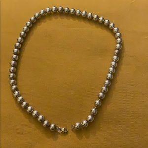 Tiffany & Co. Jewelry - Tiffany's Silver Ball Necklace